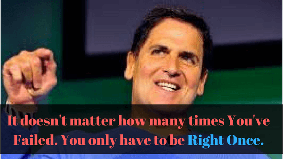 Mark Cuban Popular Quote