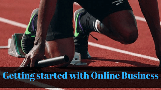 Getting started with Online Business