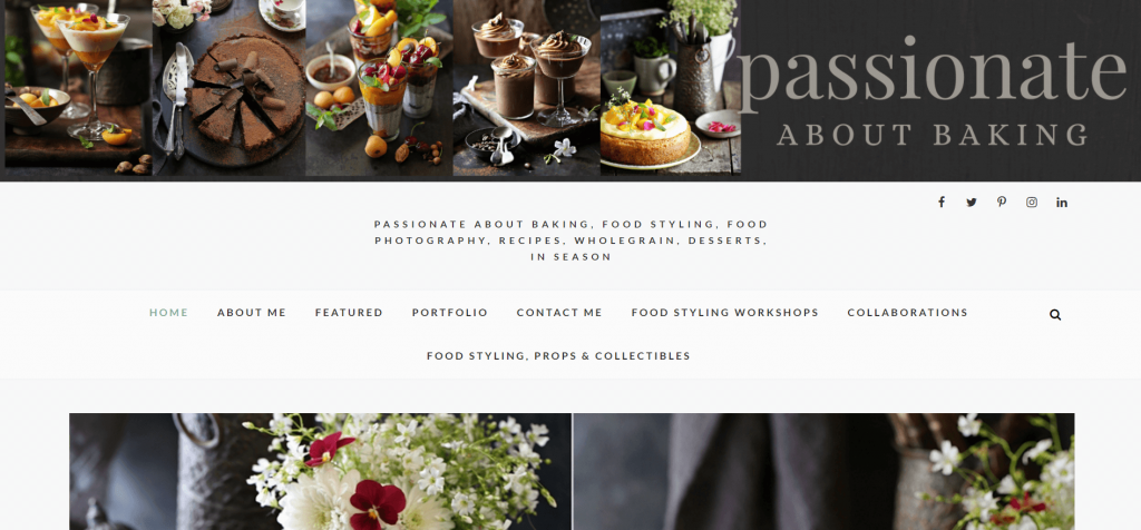 PASSIONATE ABOUT BAKING Food Blogger